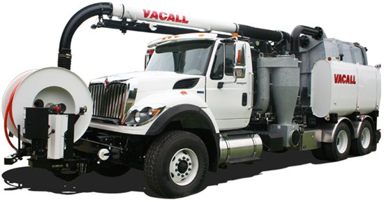Vacall Combination Sewer Cleaner