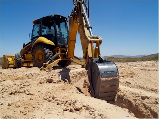 Trenching and Excavation - Backhoes