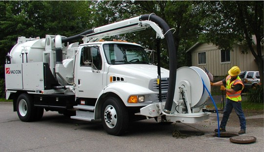 Vac-Con Sewer Jetter