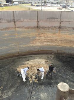 Tank Cleaning Operation