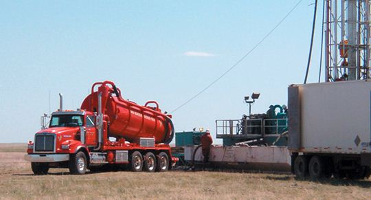 Vacuum Truck Oilfield Applications