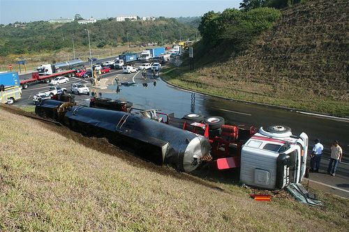 Tanker Truck Accident