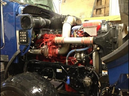 Used Vacuum Truck Engine