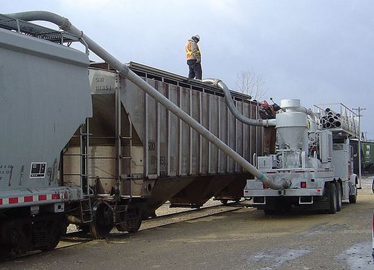 Continuous System Vacuum Truck Loader